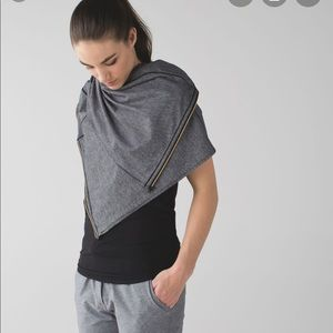 Lululemon Vinyasa Scarf Tonka Stripe Heathered